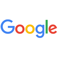 shows the company logo of Google