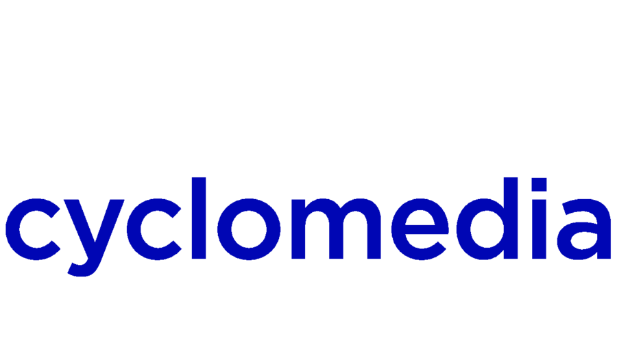 shows the company logo of cyclomedia